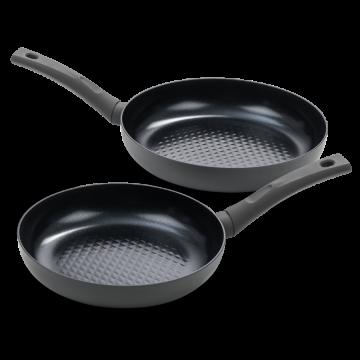 Avon combideal: Twee keramische koekenpannen - Ergo grepen